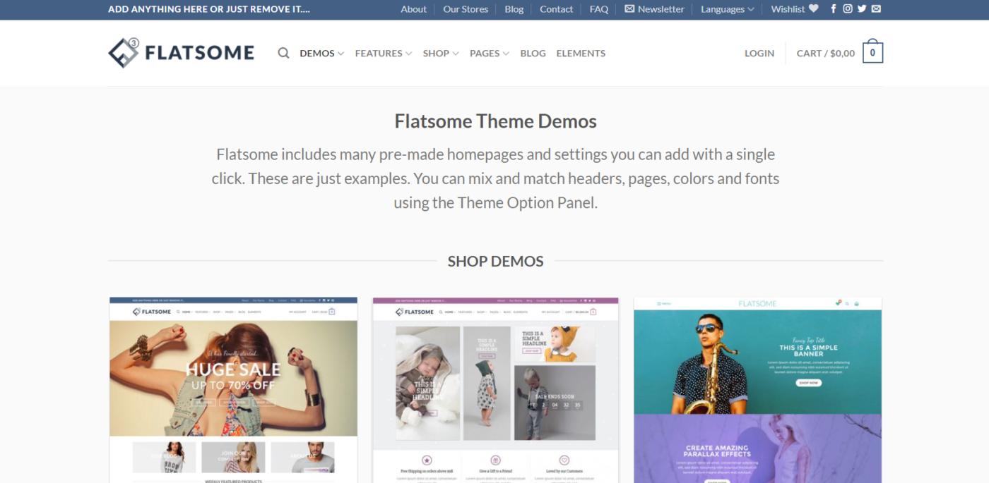 flatsome wordpress website development