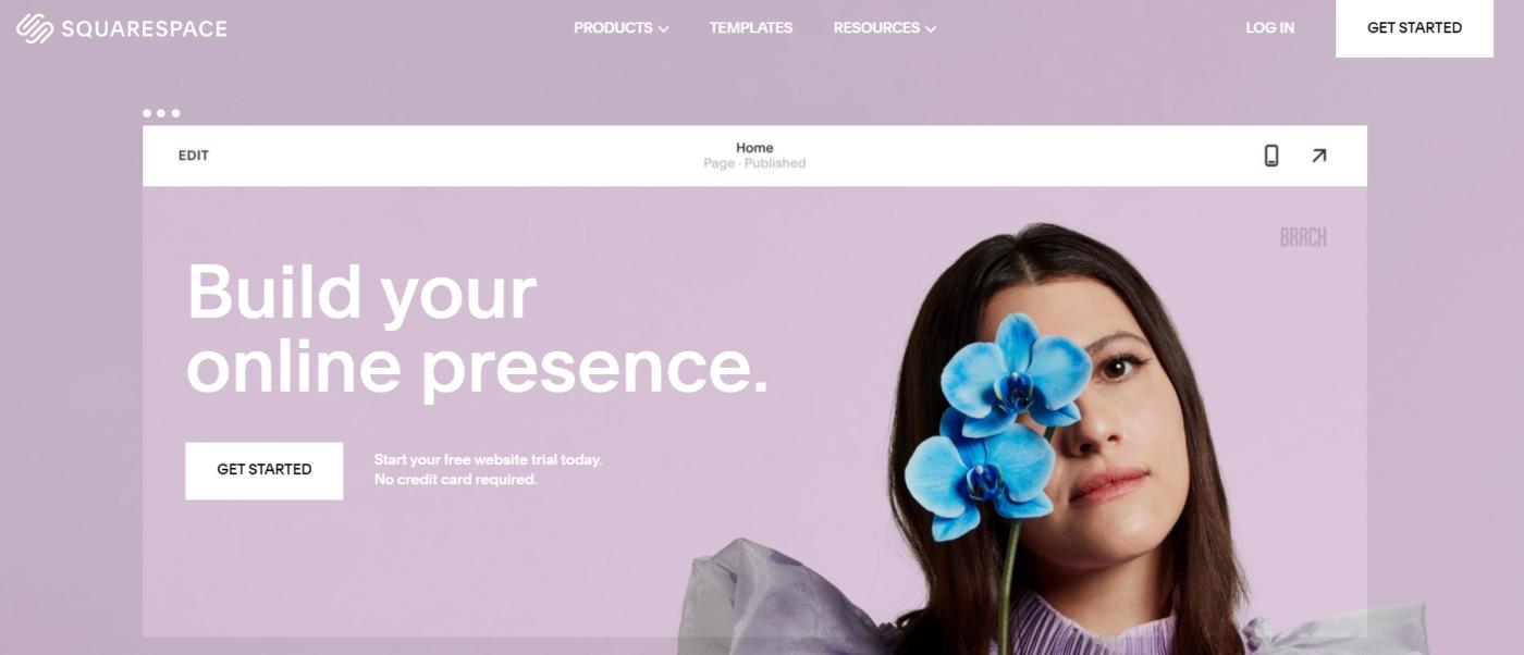 suqarespace web designing tool