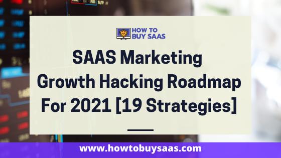 saas marketing strategies and roadmap