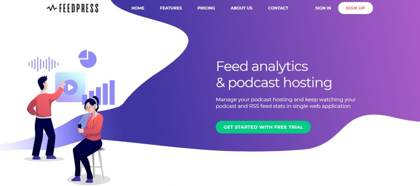Feedpress podcast hosting