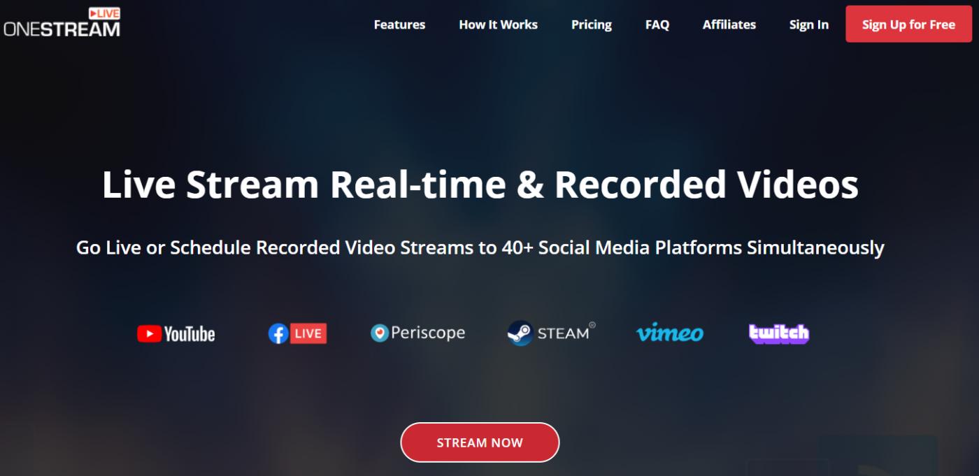 onestream best live streaming software