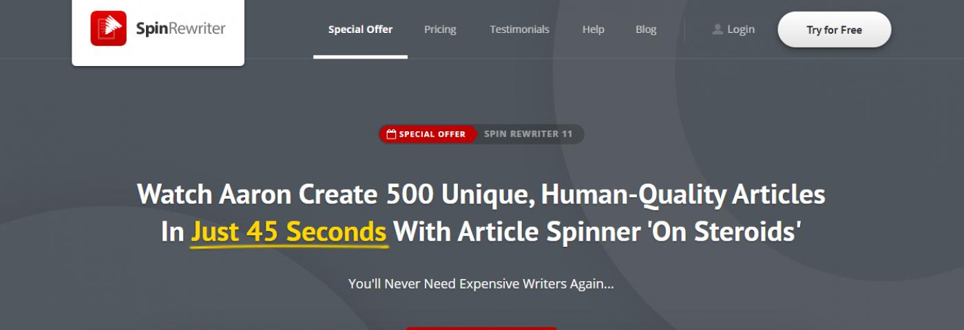 Spinbot alternatives